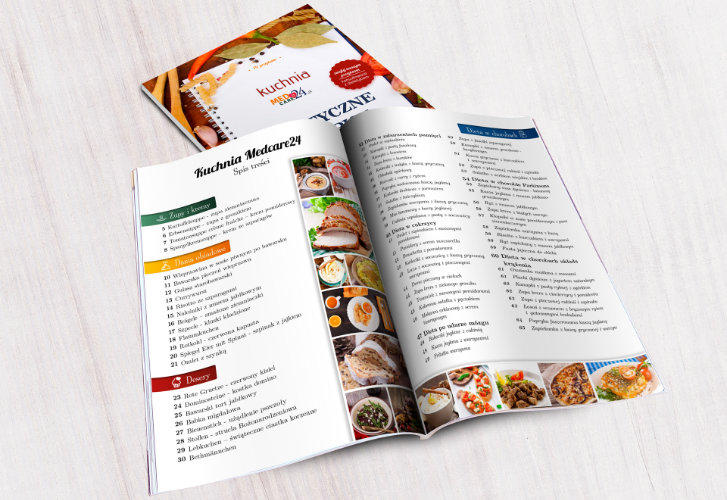 Cook Book DTP Design