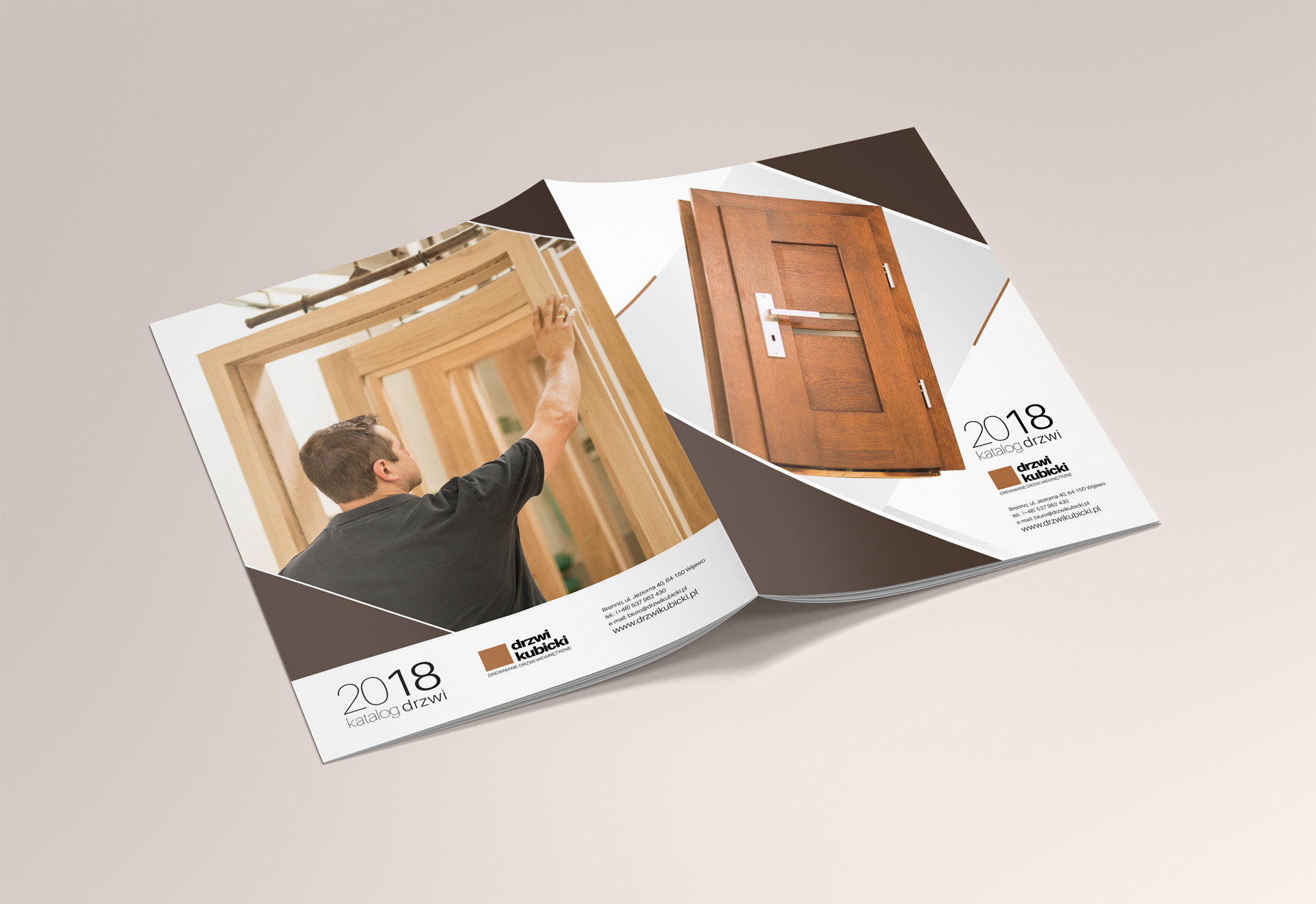 Door catalog design