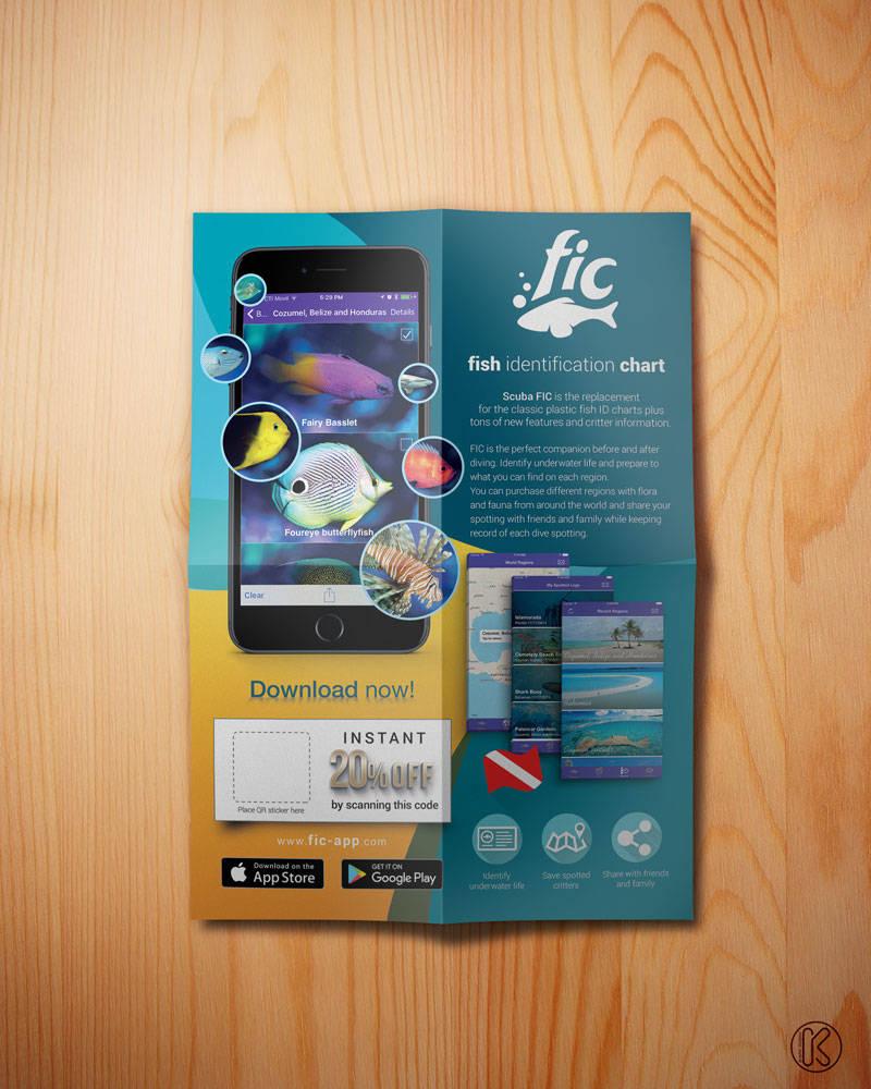 Promotional Poster App design