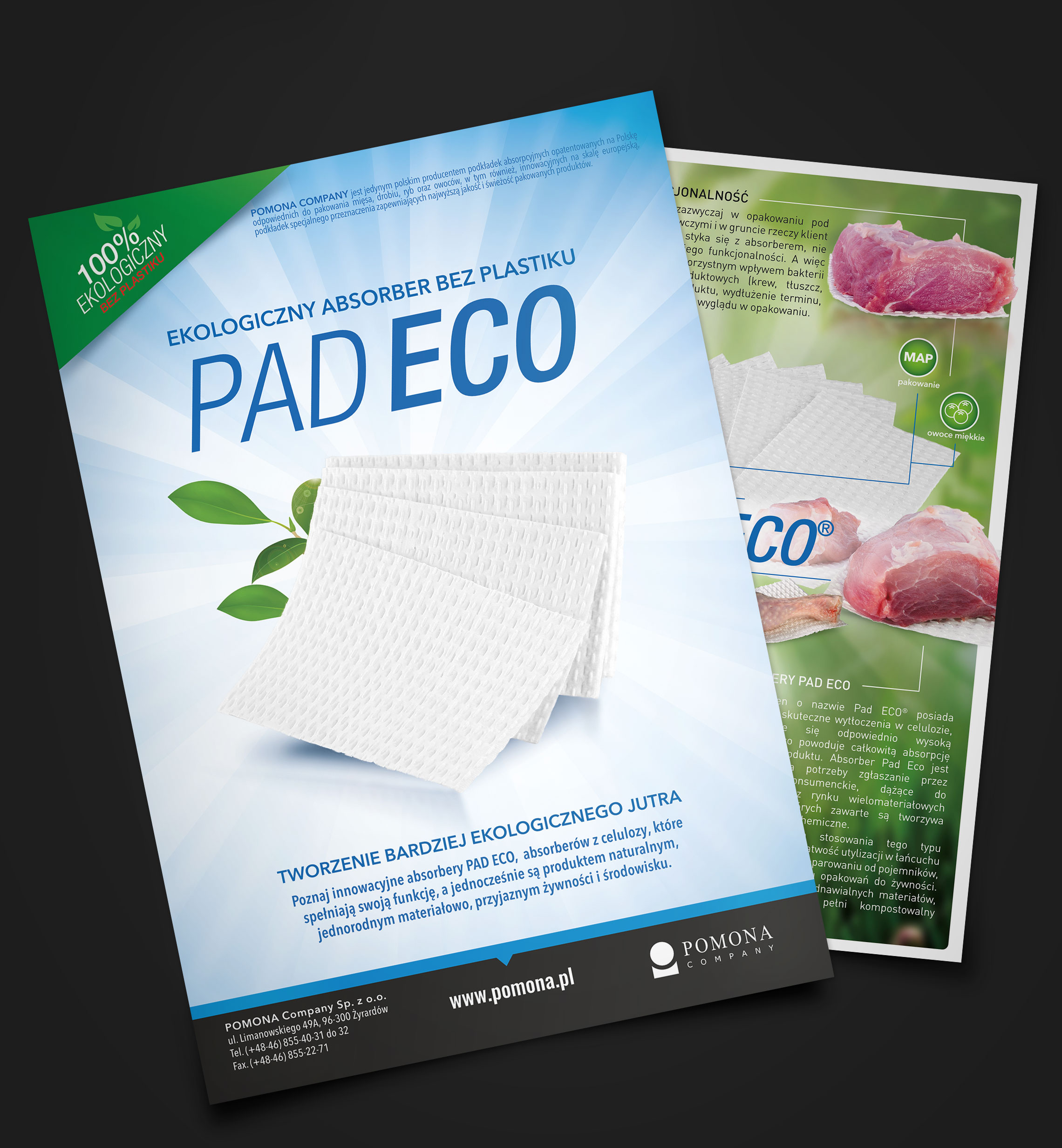Product flyer pad eco