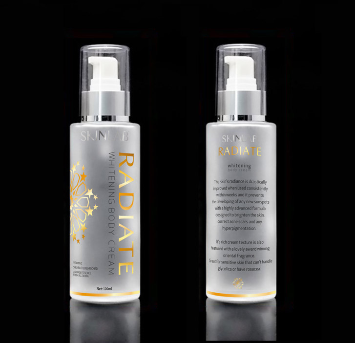 Packaging Designs - Skinlab printcreen design