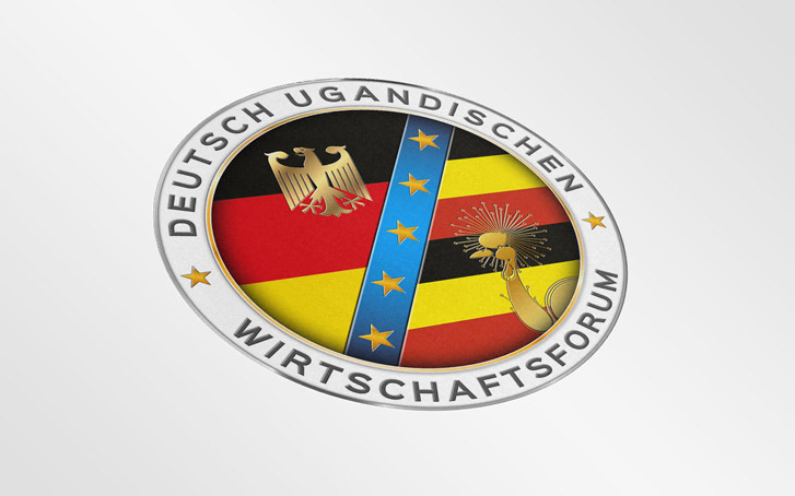 Uganda meeting logo design