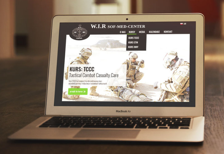 SOF MED Center Web Mockup